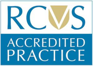 RCVS logo - accredited practice