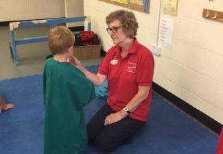 Wicstun Vets visit Croft Pre-School
